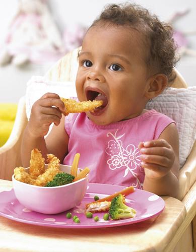 How often should a toddler nurse versus eating solid food