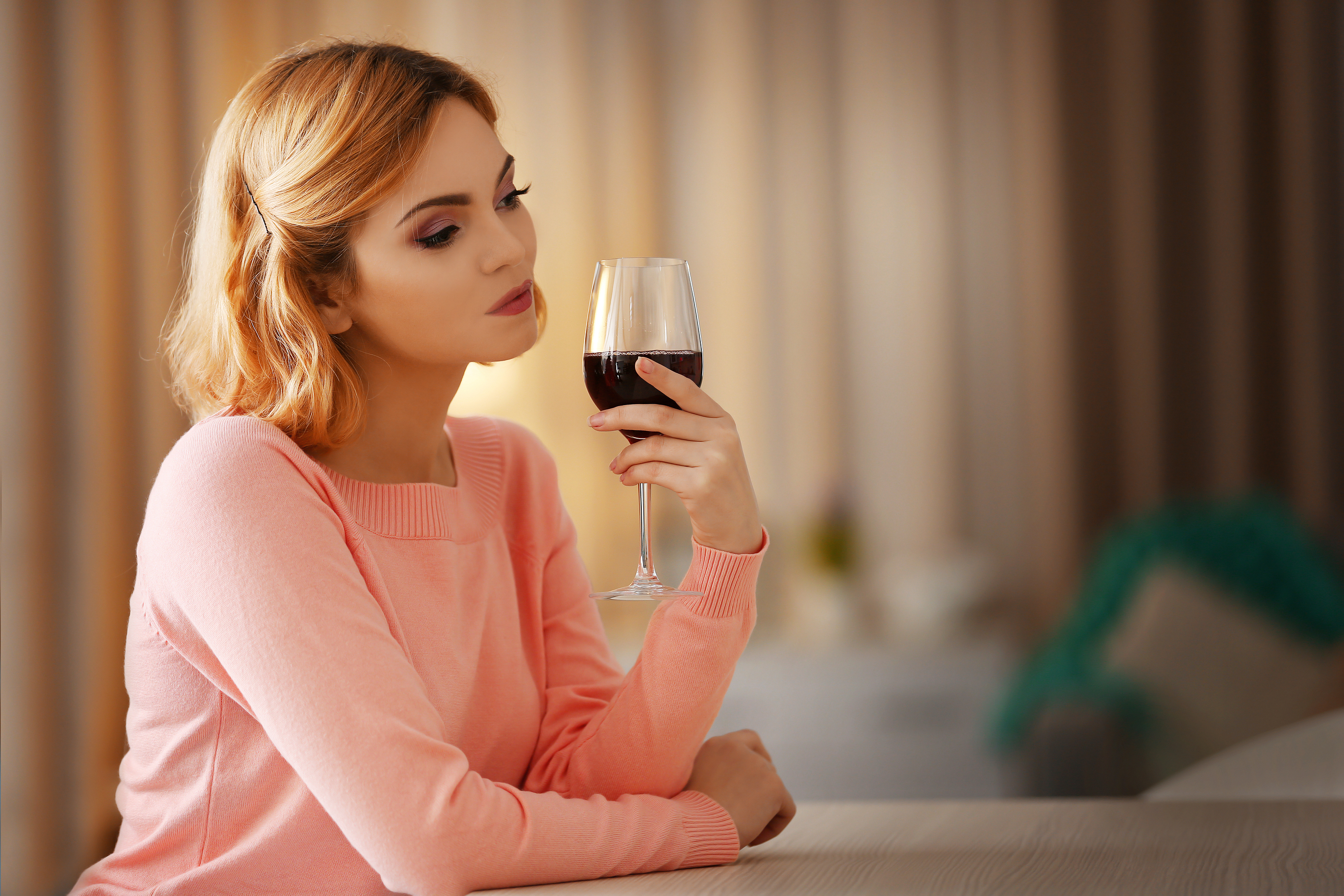 Glass Of Wine And Breastfeeding