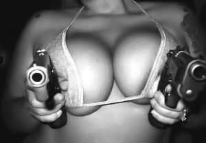 FB Boobs with guns bf blog