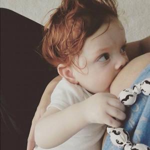 BFB Toddler Ginger Nursing Necklace Tyra Scott