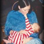 Mom nursing Evan