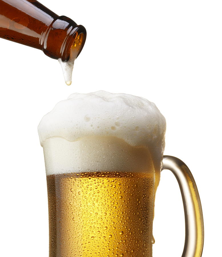 Beer breast guinness milk