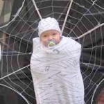 FB Baby Spider web Halloween