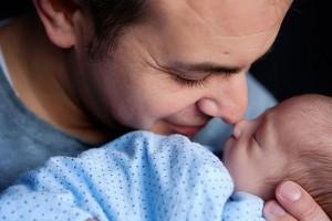 BFB Dad baby nose 2014