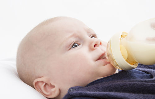 foul smelling breast milk with fortifier