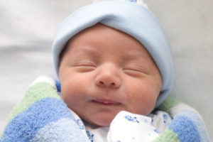 newborn-wrapped-in-blue
